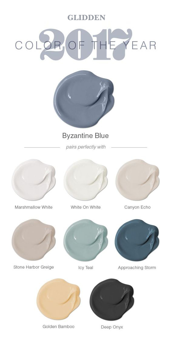 Below Are The Trending Paint Colors For 2017 From Some Of Top Manufactures