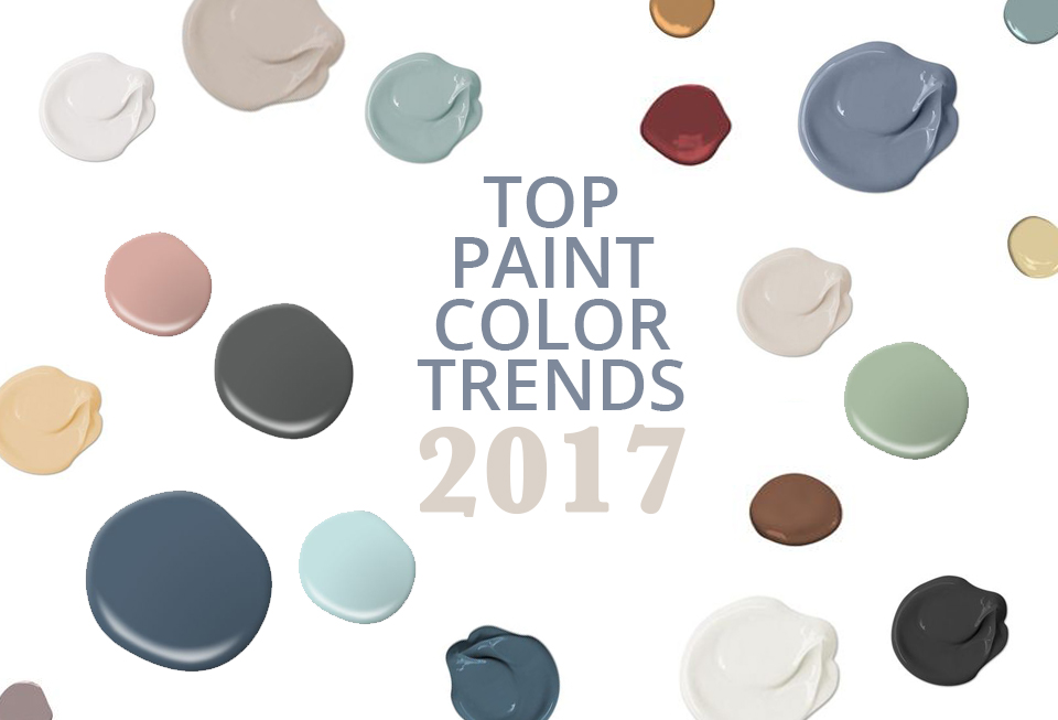 Paint Color Trends of 2017